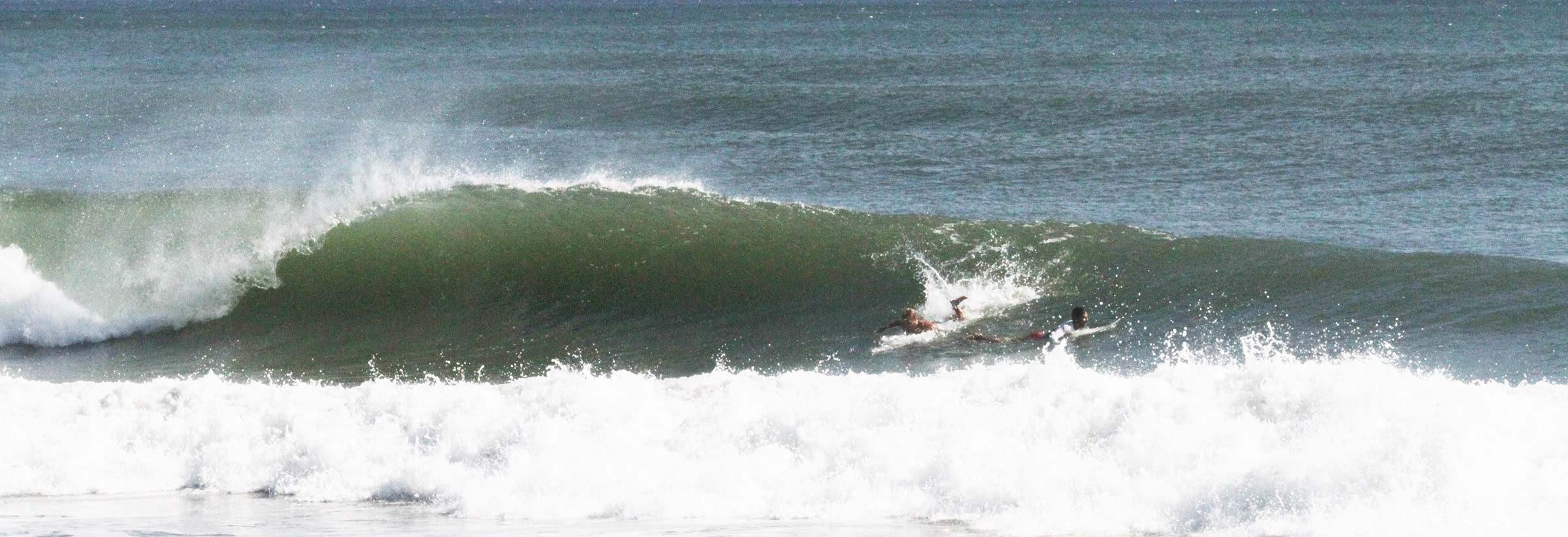 La Bocanita Surfing El Salvador