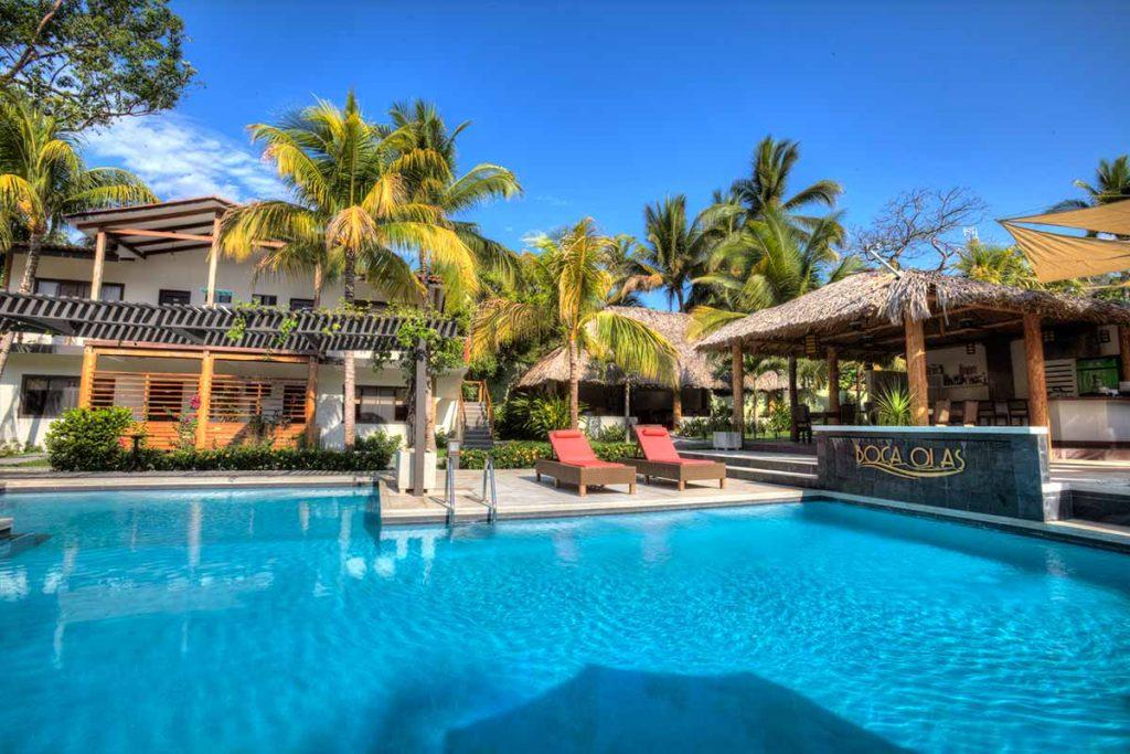 Boca Olas Hotel In El Tunco El Salvador Sunzal Surf Company
