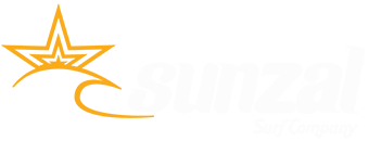 Sunzal Logo - White